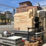 石窯と地震