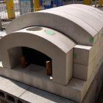 耐火コンクリート製石窯キット サイズS 展示処分