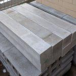 軽量耐火コンクリート製の棒 石窯炉床用に 引取限定販売